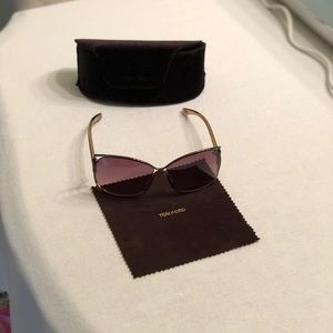 """7c64e3027bb Tom Ford Accessories - TOM FORD """"Eugenia"""" Sunglasses with case and wipe"""